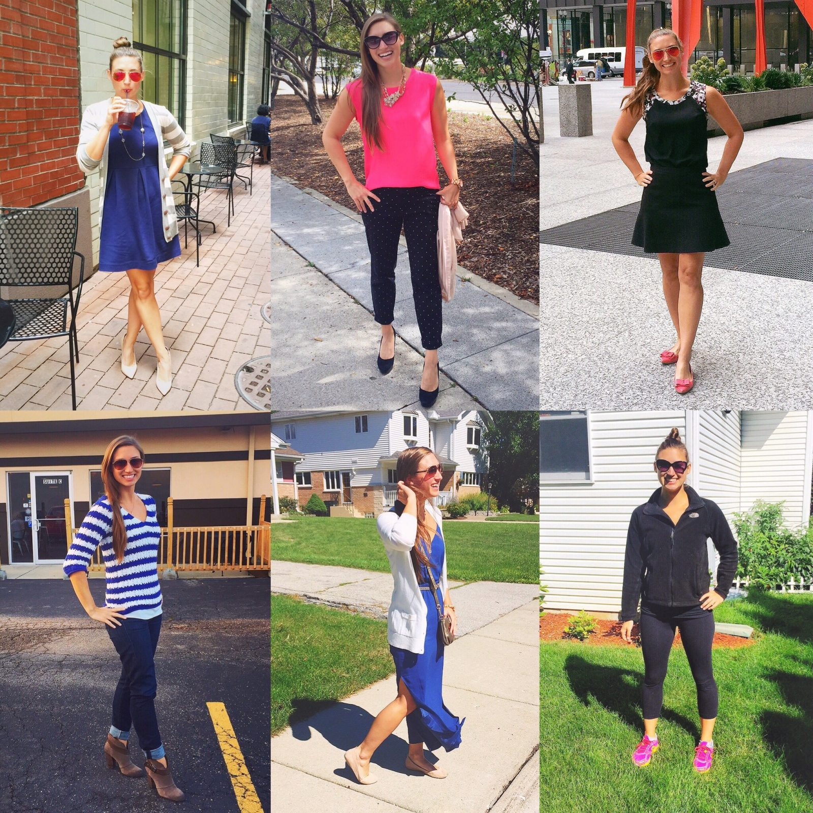 Summarizing Days 8 – 13 for the Wet Hair, Don't Care's 30 Day Outfit Challenge!