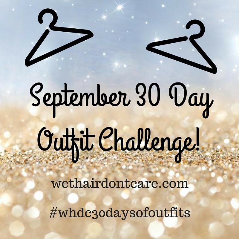 September 30 Day Outfit Challenge!