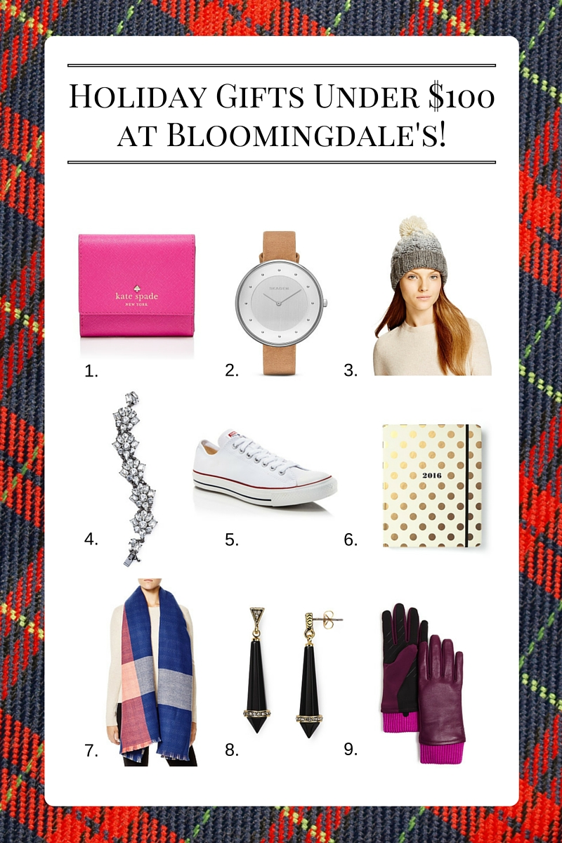 Holiday Gifts Under $100 at Bloomingdale's!