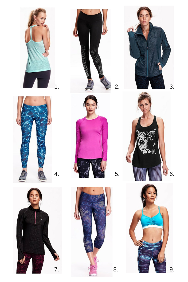 50% Off Active Wear at Old Navy!