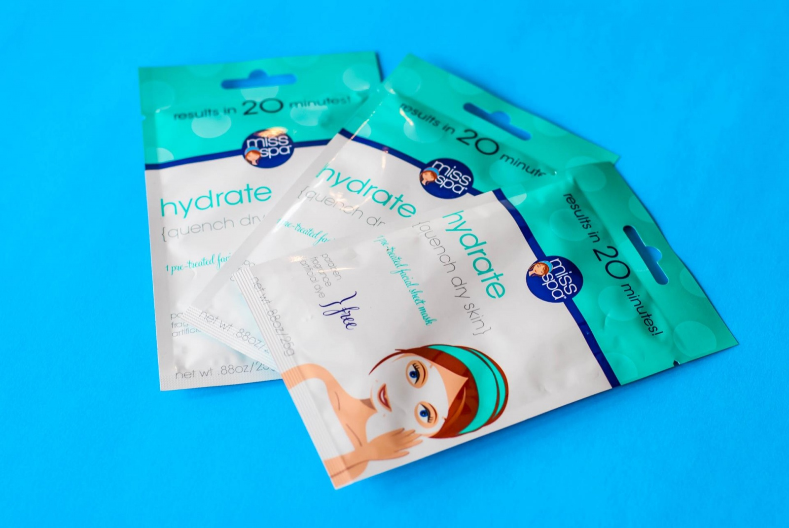 Why I'm in Love with Miss Spa Hydrate Facial Sheet Masks
