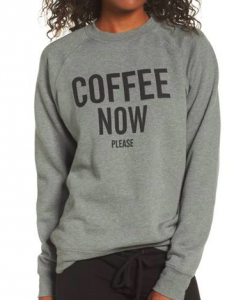 BRUNETTE the Label Coffee Now Lounge Sweatshirt