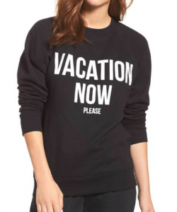 BRUNETTE the Label Vacation Now Sweatshirt